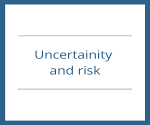 Uncertainity and risk